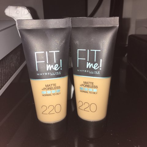 fit me foundation 220