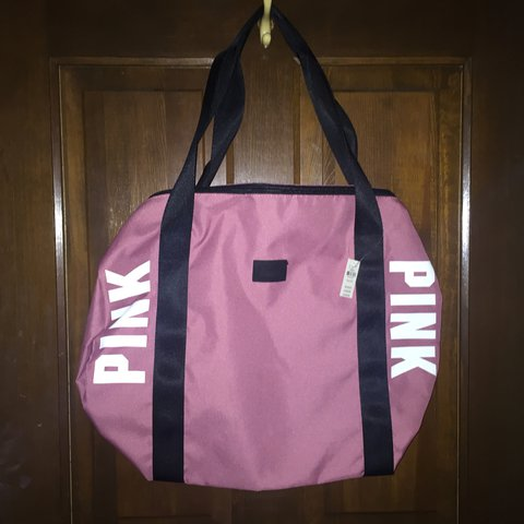 47c76587c8 PINK Soft Begonia Duffel Bag. Never used