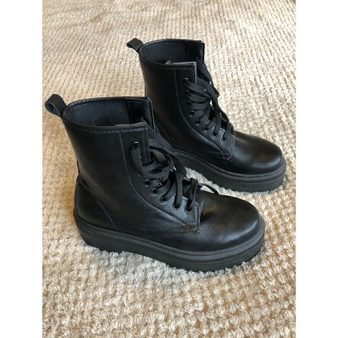 8735be44315d @amber_rout. 4 months ago. Thetford, United Kingdom. Asos design attitude  chunky lace up boots ...
