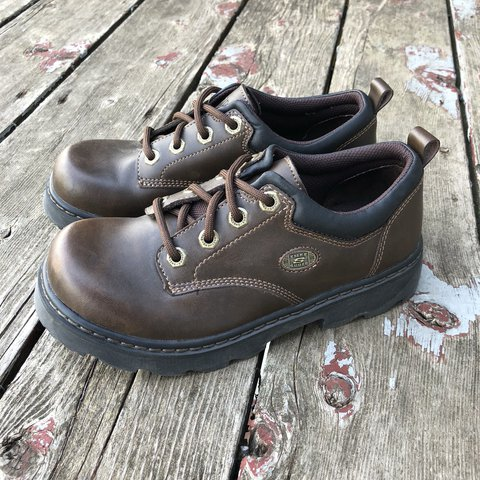 e85770d2dea Vintage Skechers Tuff Shoes. These look like they ve been No - Depop