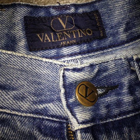 264a2d07bf799 Authentic Valentino (originally jeans) denim shorts. Doesn t - Depop
