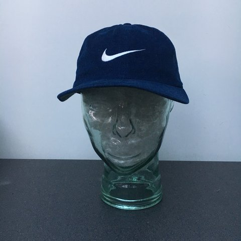 5293a3a0101 Vintage Nike Corduroy 5-Panel Hat With adjustable Strap £15 - Depop