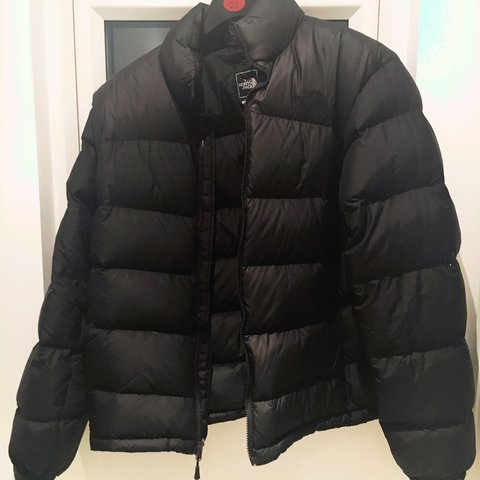 North face jacket nupste 2 all blacked out. 700 series. Stow - Depop 272fbb1dd