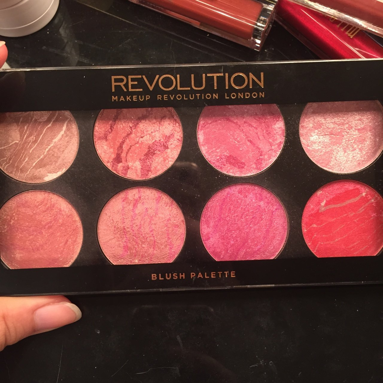 Makeup Revolution Blush Palette Queen Pretty Pinks And The Depop Make Up