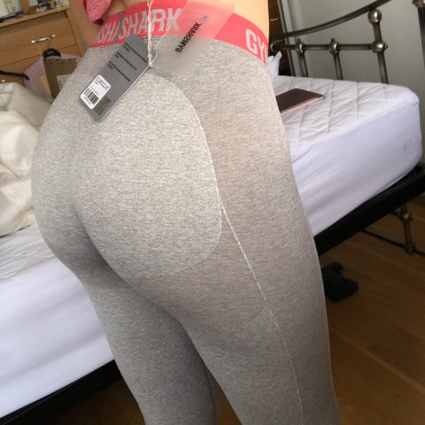 4f4ee34ea8d90e @cmelliec. 2 years ago. Coulsdon, United Kingdom. Gymshark flex leggings  size M light grey figure hugging and seamless never been worn🦈 ...