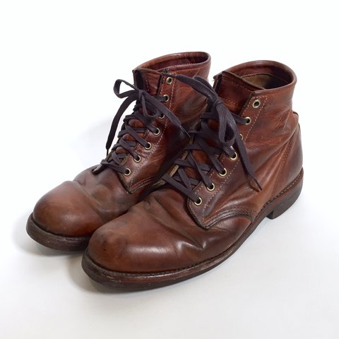 392e85a790ed Vintage Brown Leather Chippewa Boots - Men s size 10.5. are - Depop