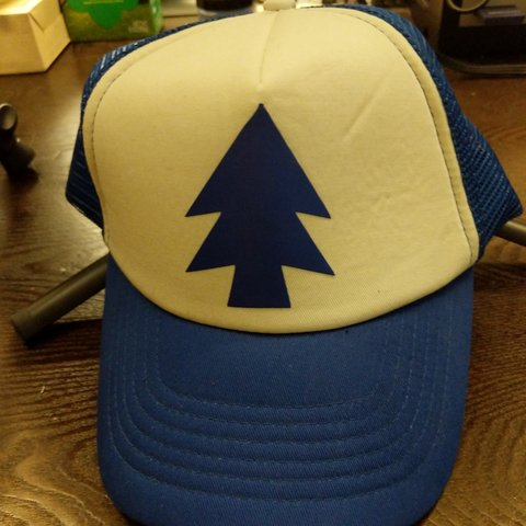 8111e216548e0 Gravity falls Dipper trucker hat! Dm me if you want to - Depop