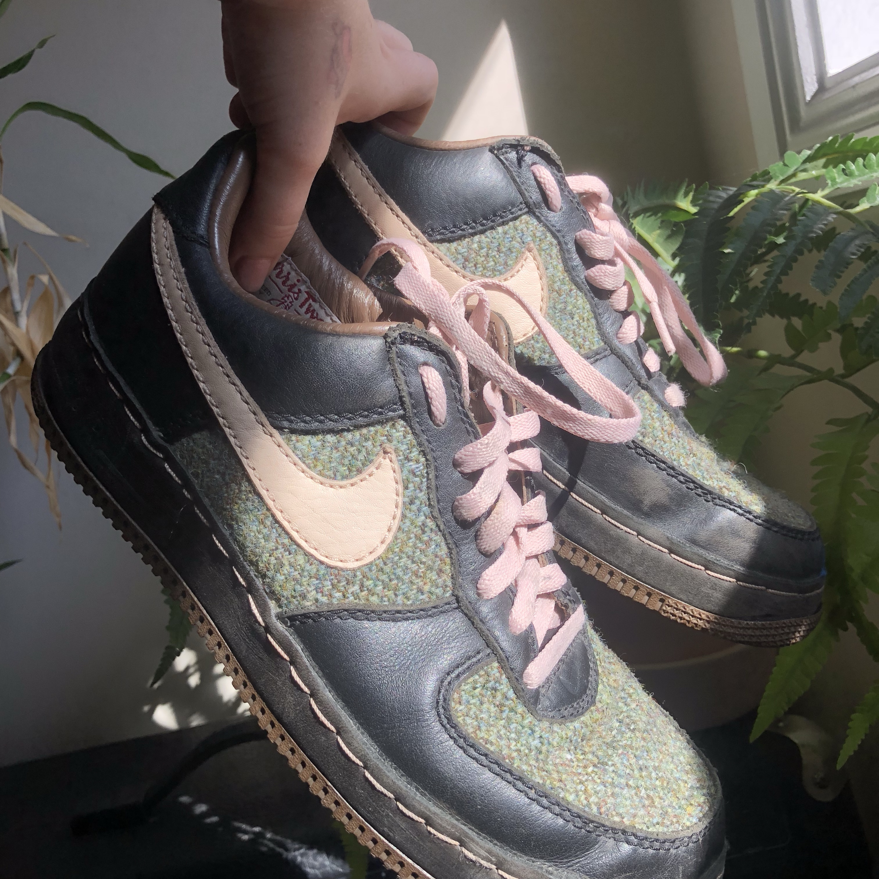 classic skate shoes on wholesale low nike air force one harris tweed!!!!! THESE ARE... - Depop