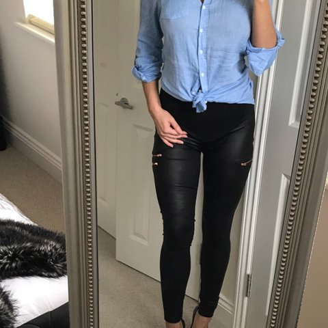 e4218640979f1 @bambi_lang. 2 years ago. High Wycombe, United Kingdom. ASOS wet leather  look maternity leggings ...