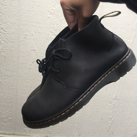 "62d720136b9e Dr. martens ""EMBER GRIZZLY"" black chukka boots. Basically - Depop"