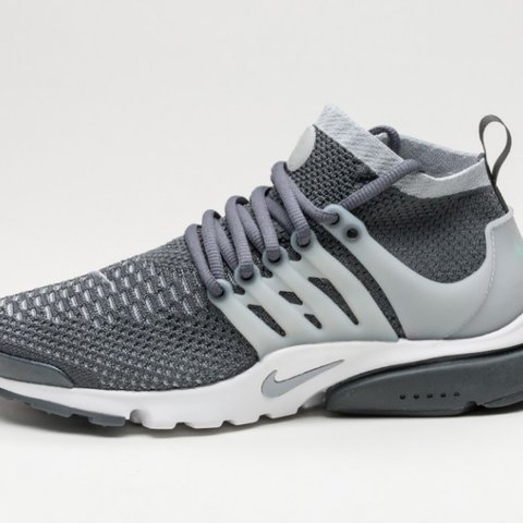 0c5ea7a6ebb7a Nike Presto Flyknit Ultra Wolf Grey Size 8.5UK 100% and new - Depop