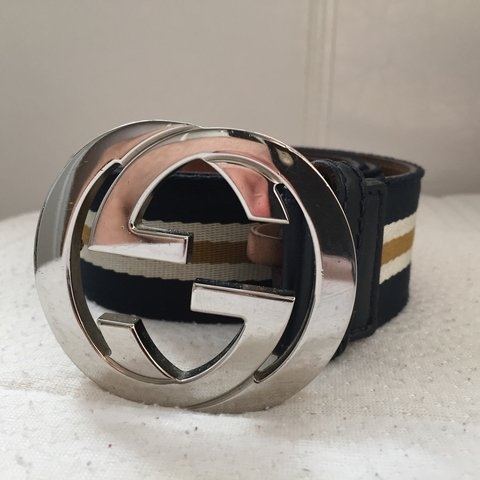 960005e5d416 Good condition 100% genuine mens #Gucci belt for sale. Comes - Depop