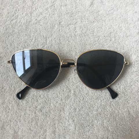 90f1127e2a420 Pretty little thing cats eye sunglasses   price includes - Depop