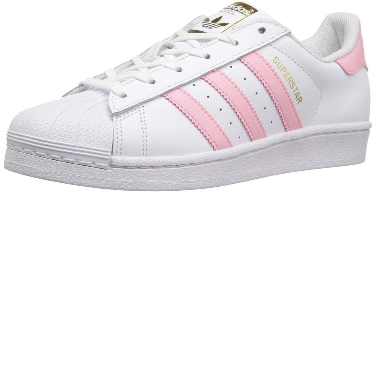 Adidas superstar shell toes in a cute baby pink color! Used - Depop d5b743e79b68