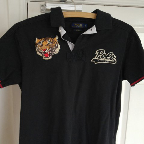 94462bd5f ... germany mens l ralph lauren tiger head polo shirt 8 10 min free t 45  depop