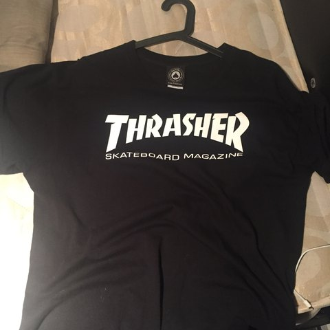 e02223a94f49 Thrasher shirt Worn only once Still new No flaws Price can - Depop