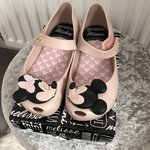 563531fd4d93 Mini Melissa Minnie Mouse shoes Size