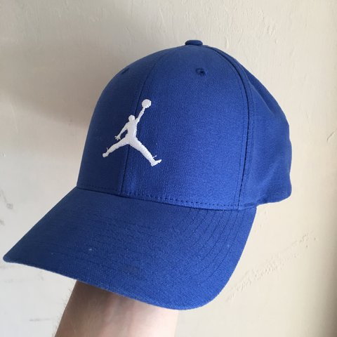 7f2b7ac4 ... discount code for blue nike jordan curved peak cap size s m great  condition depop b5a33 bf1d2