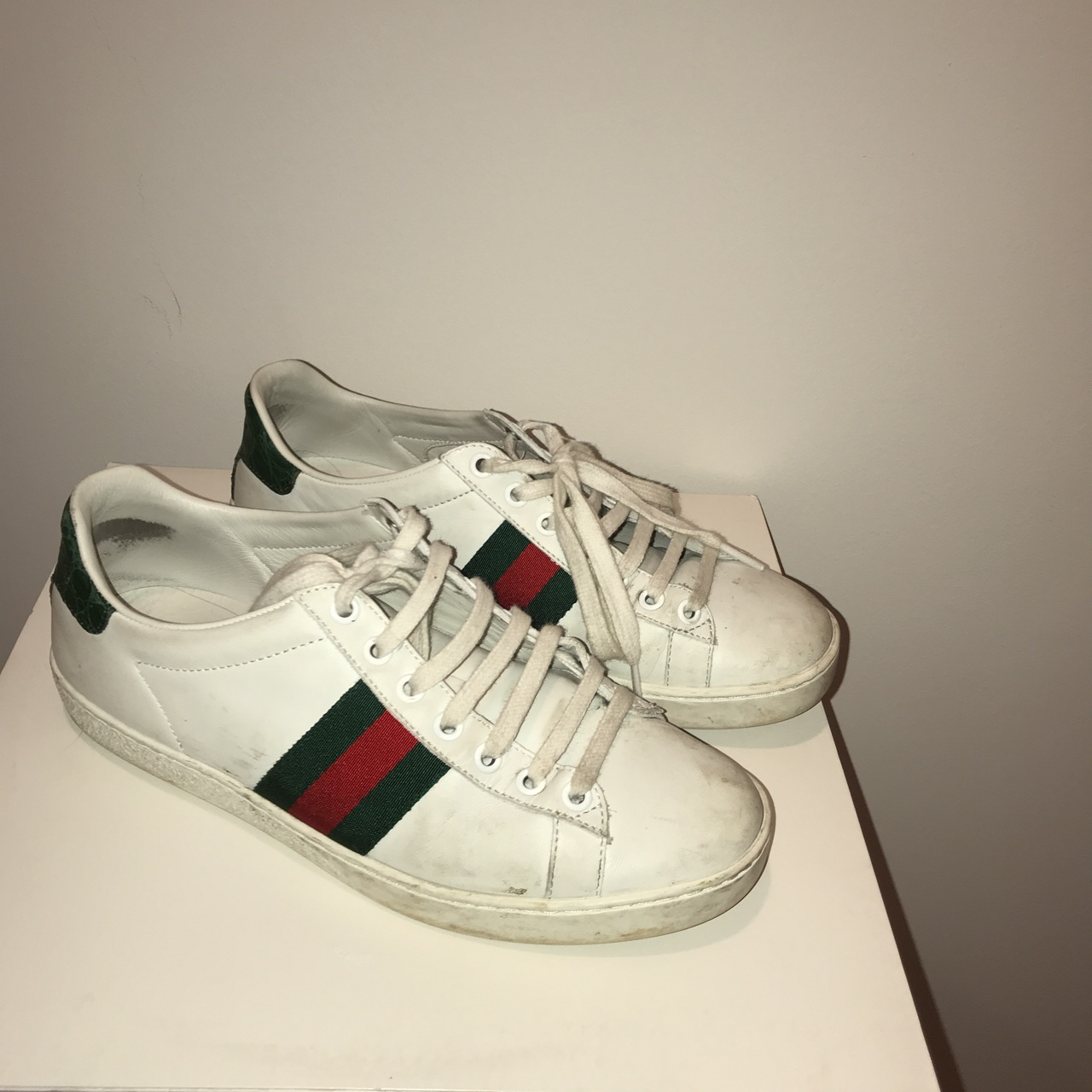 Gucci Ace Sneakers🇮🇹 Worn in Purchased