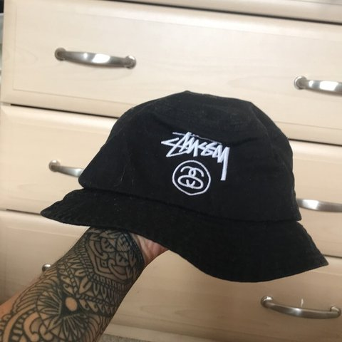 97dc7d3866d Genuine Stussy stock lock FA14 bucket hat