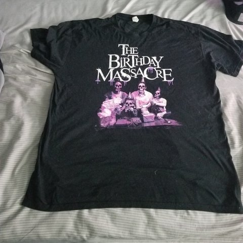 The Birthday Massacre Skeleton Family Shirt Only Worn A Few