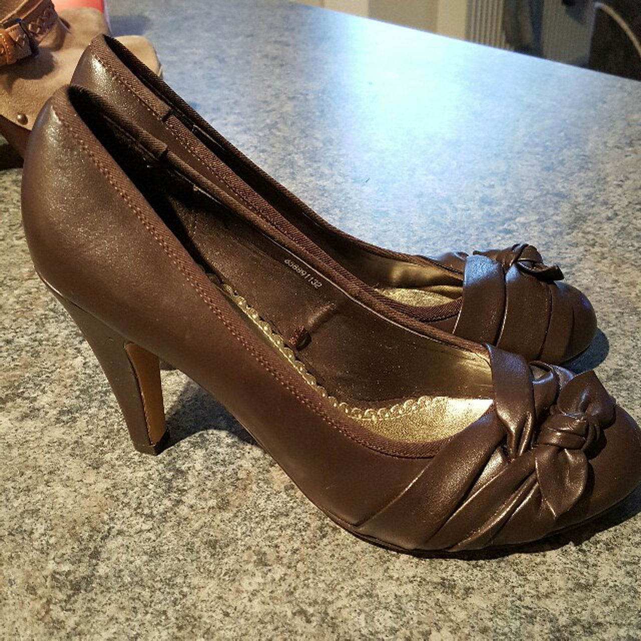 Red herring brown court shoes size 5 worn once inside! - Depop 5a7bd56b4