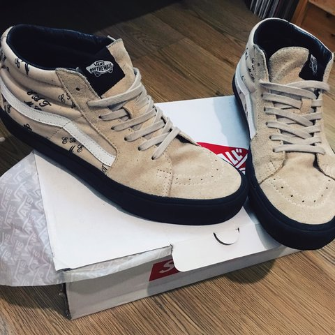 4cc1bce69b Supreme x Vans A W15 EAT ME Mids. Copped from NY when I with - Depop