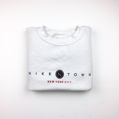 a4d8d164db5 Nike Town NYC sweatshirt. Size fits Medium. Condition 9 10