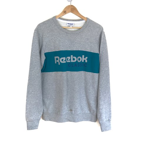 cc91cef64d5 Vintage Reebok Classic sweatshirt   jumper. Size Medium. the - Depop
