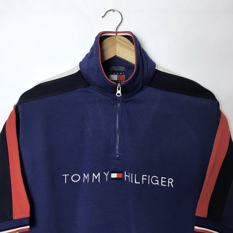 6395af02 @iconicgrade. 7 months ago. United Kingdom. Vintage 90s Tommy Hilfiger Polo