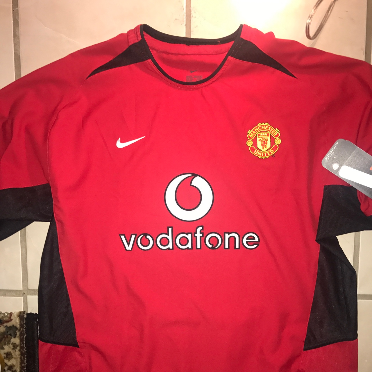 finest selection f8d41 d3825 AUTHENTIC MANCHESTER UNITED VAN NISTELROOY 10 ...