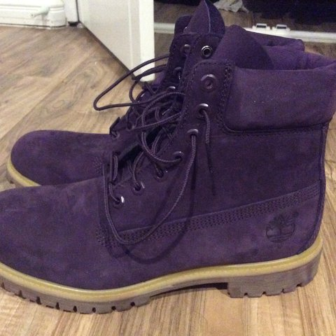 61709d6473c9 Timberland x Villa Purple Diamond Boot Sz 10.5. Boots only - Depop