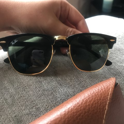 ad42e32c127 Club master ray ban sunglasses mint conditioner no only for - Depop