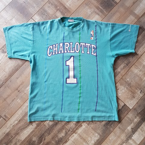 d6be37cc Charlotte Hornets T-Shirt Size Large. £15 + shipping. *OPEN - Depop