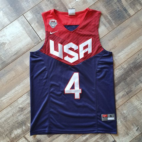 13d2c3188248 Steph Curry Team USA Jersey Size Small  OPEN TO OFFERS  Nike - Depop