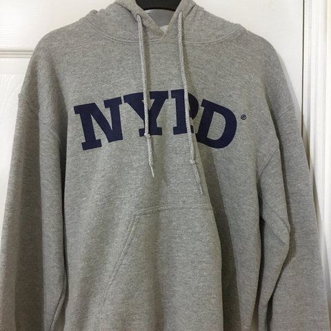 0f035350b TOPSHOP NYPD HOODIE good condition, worn a couple times but - Depop