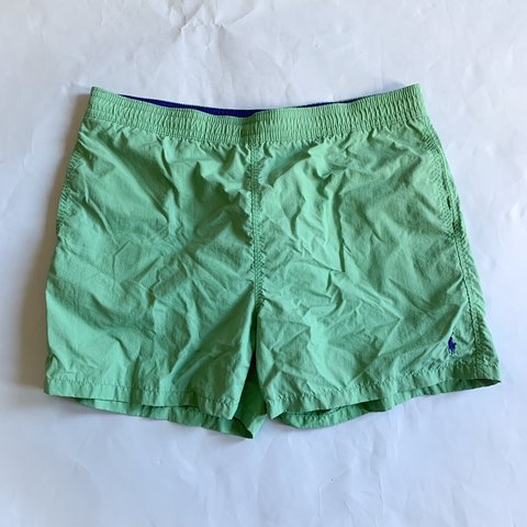 9a72c762c Polo Ralph Lauren swim shorts. Size mens large. Color is It - Depop