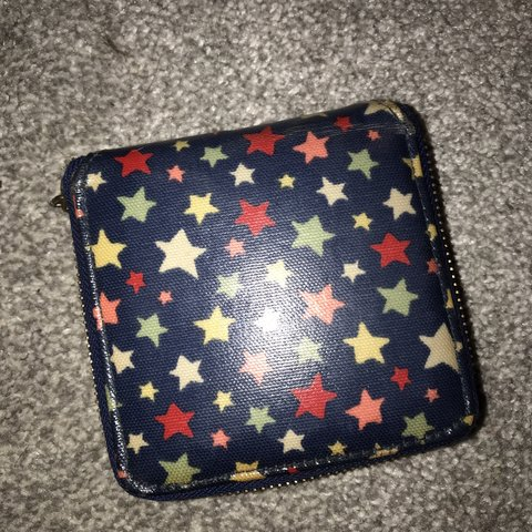 92d6c0f10dcd Cath Kidston star purse for sale. Well loved but I'm great - Depop