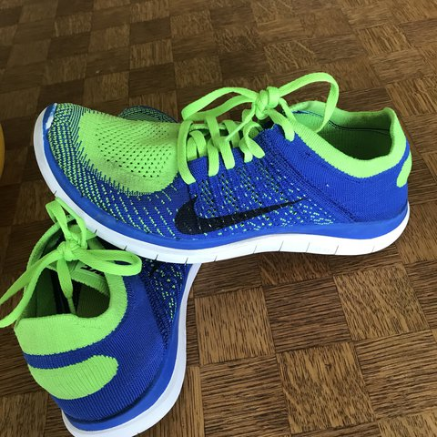 sale retailer 4d8e5 d5716  naishc. last year. Retford, United Kingdom. Men s Nike Free Flyknit 4.0,  mint condition, Blue green ...