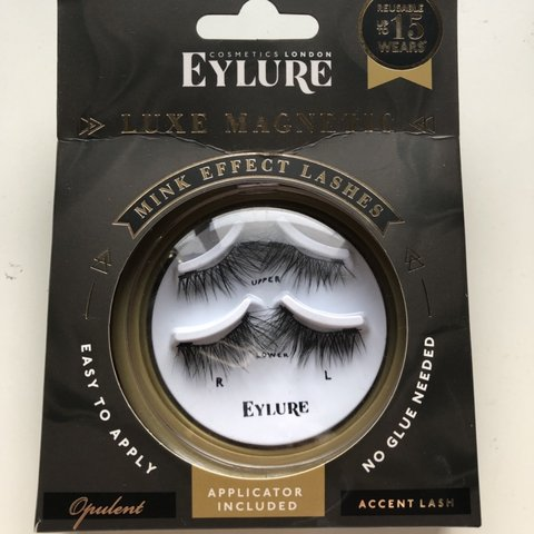 b384ccc8b57 @nicolechristineanna. last month. Luton, United Kingdom. Eyelure Luxe  Magnetic eyelashes!! Never worn! Comes ...