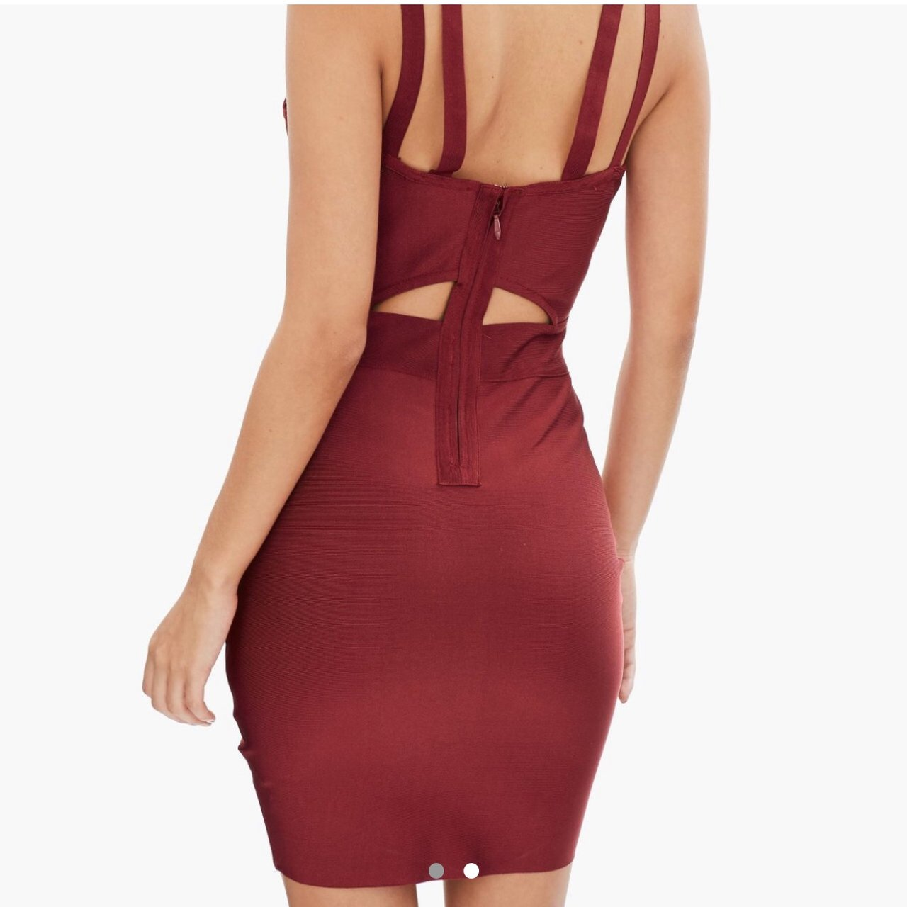 92afed4fe98f Red dress Missguided Size 16 Brought