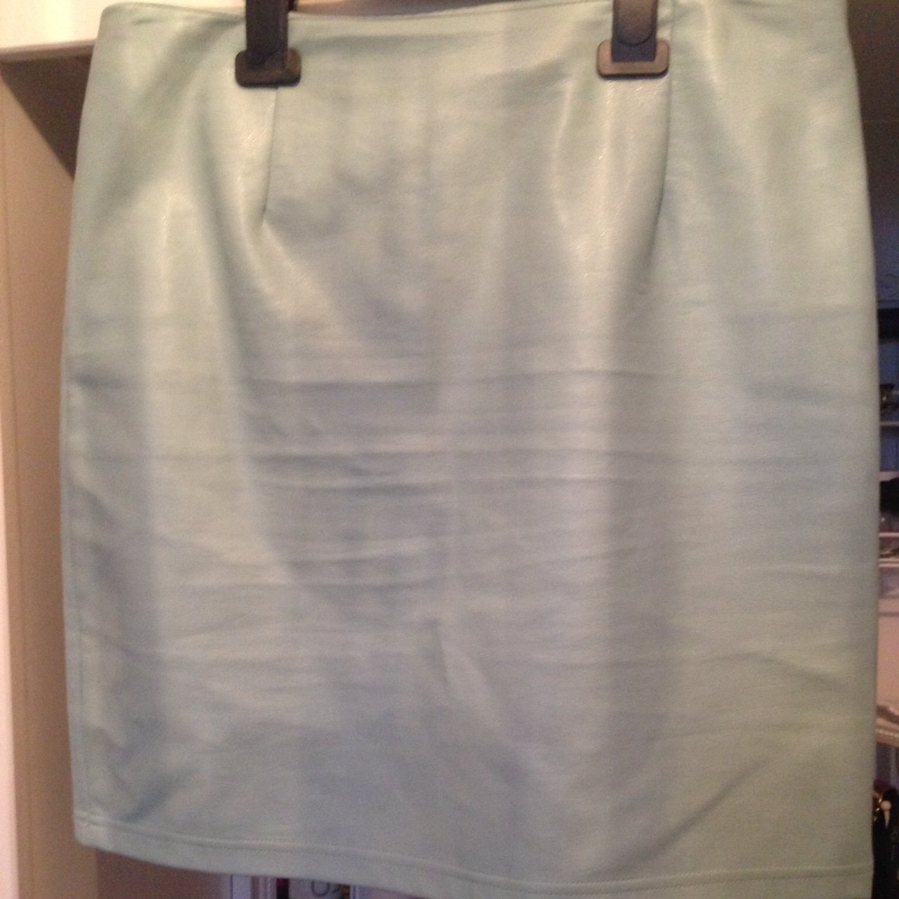 71c532006b Green Leather Skirt Primark – DACC