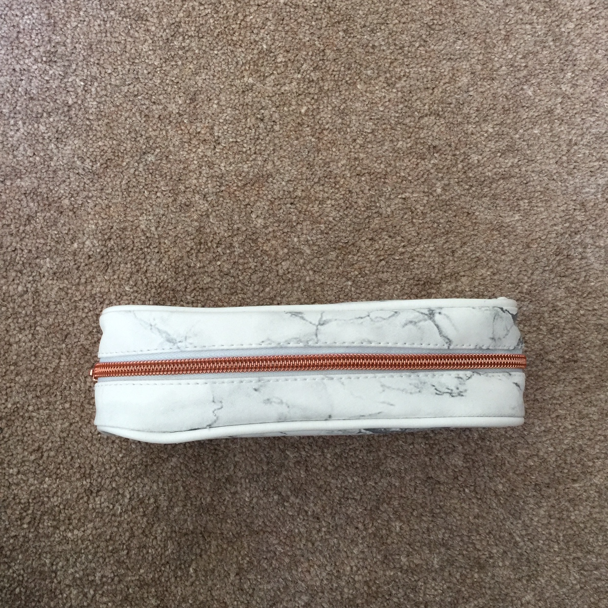 Rose Gold /& Marble Design Stationery Pencils Notebook and//or Pencil//make up Case
