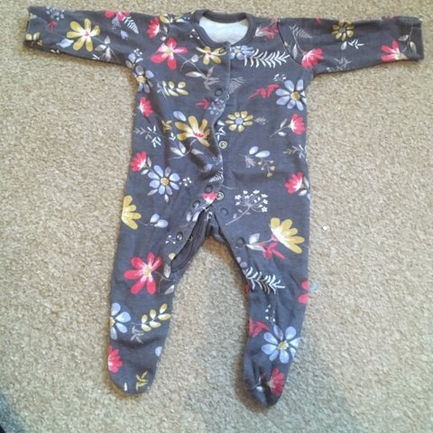 e4666bf41 Pre loved tiny baby baby grow. Baby girl, tiny baby, first - Depop