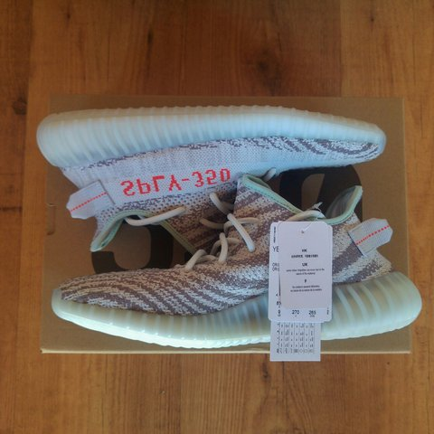 8ec00e493493e Adidas Yeezy Boost 350 V2 Blue Tint Size UK8.5 US9 EU42 new - Depop