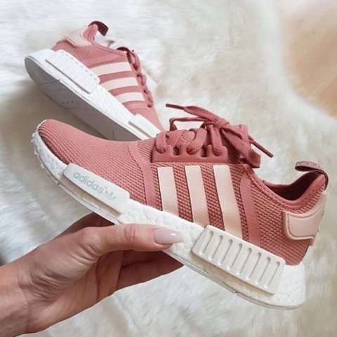 00a1b65630ca3 ISO raw pink adidas nmd!!!!! women s size 6.5 or 7! - Depop