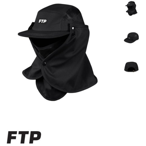 🔺SOLD VIA GRAILED🔺 FTP face mask hat (black) Will ship out - Depop 6236b0aa251