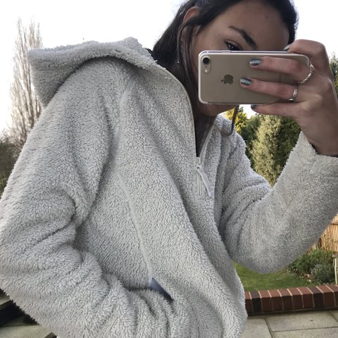 66c7f906d928e gorge teddy 1 4 zip fleece⛈ ridiculously soft   cosy