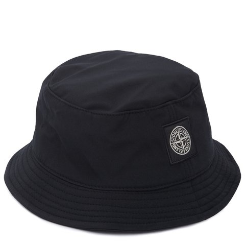 a83eb2ad5a8 Black stone island bucket hat bought for £110 still got on - Depop