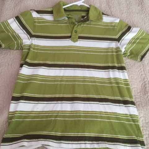 26ca8286 @gnarlypoptart. 3 months ago. Upland, United States. old navy striped polo  Boys XL